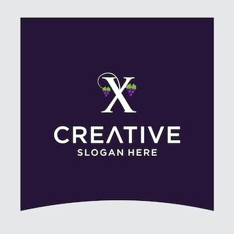 X uva logo design