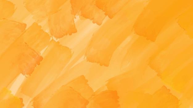 Sfondo acquerello astratto giallo