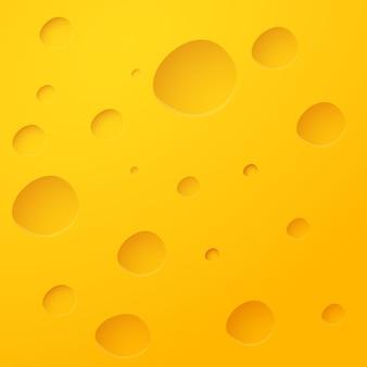 Fondo giallo del patern di struttura del formaggio