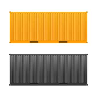 Container giallo.
