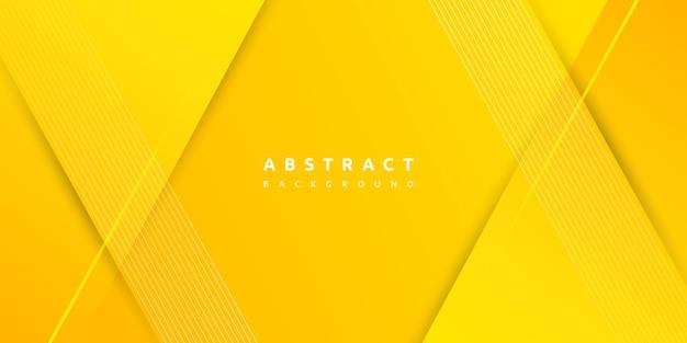 Sfondo geometrico giallo