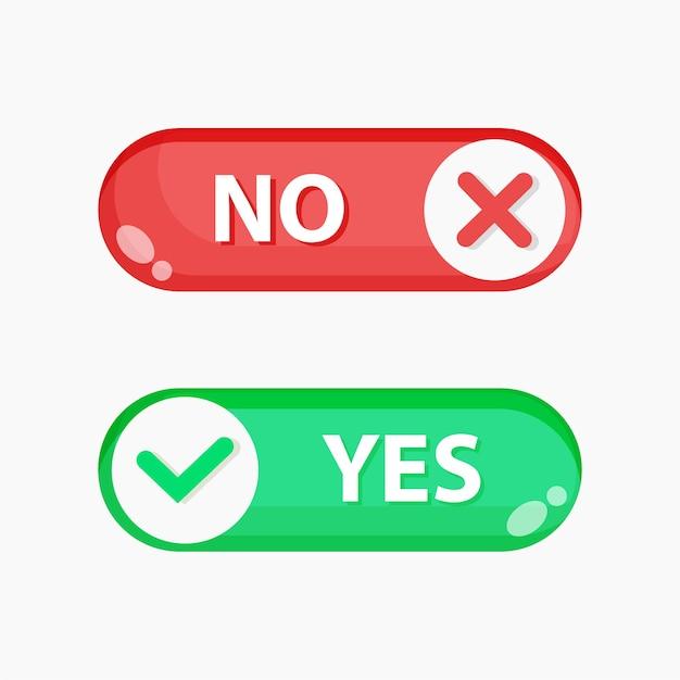 Sì e nessun pulsante di commutazione