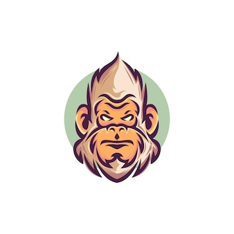 Logo della testa di yeti