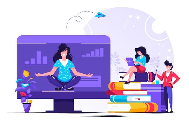 Benefici per la salute yoga del corpo, della mente e delle emozioni