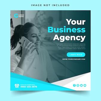 Modello di post sui social media della tua agenzia commerciale