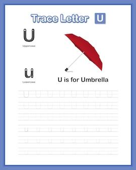 Libro di pratica di scrittura a mano lettera minuscola az