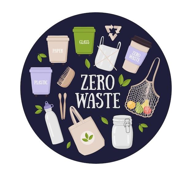 Collezione di concept lifestyle a rifiuti zero