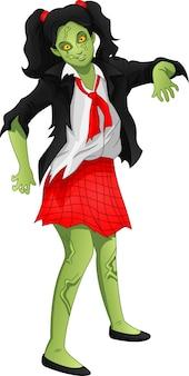 Cartone animato zombie