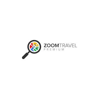 Logo di viaggio zoom