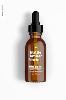 1 oz fles (amber) mockup