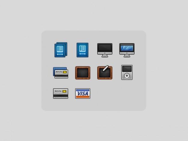 10 elektronische iconen