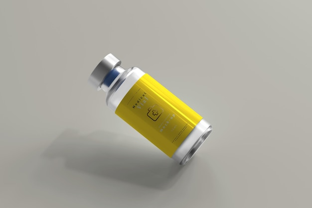 10 ml flesje fles mock-up
