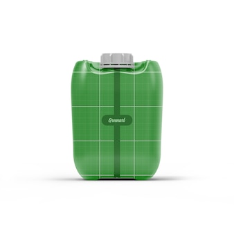 10l hdpe jerry can mockup