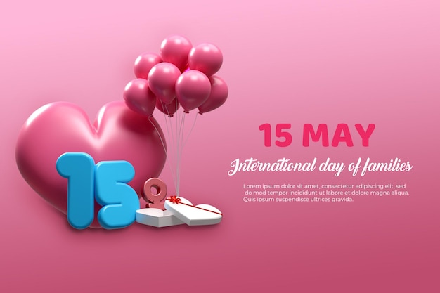 15 de mayo día internacional de la familia