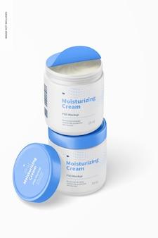 19 oz moisturizing creams mockup, gestapeld