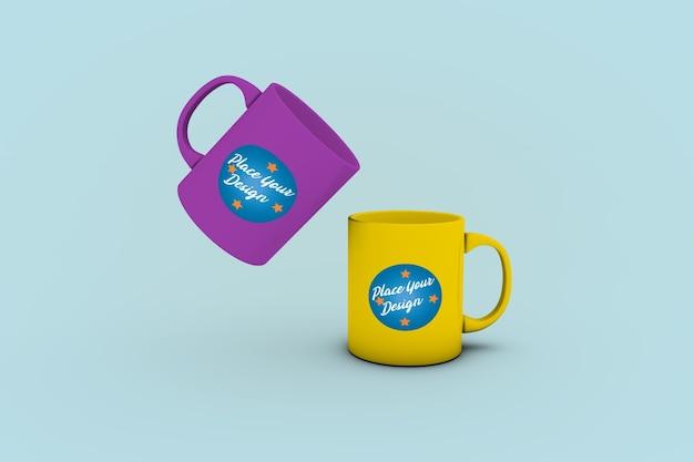 2 simpatiche tazze da caffè