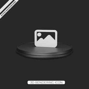 3d-beeldweergave render pictogramontwerp