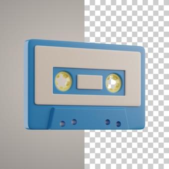 3d cassette-uitknippad