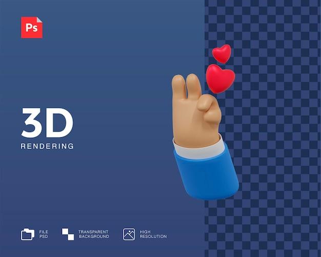 3d como ilustración