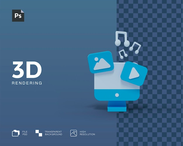 3d computerillustratie