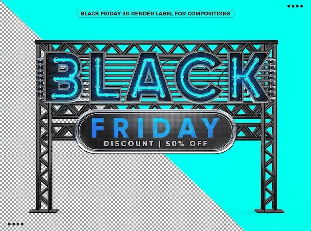 3d display black friday korting 50 korting