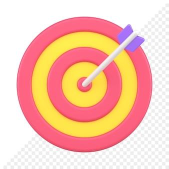 3d-doelpictogram