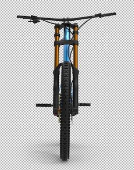 3d fiets geïsoleerd.