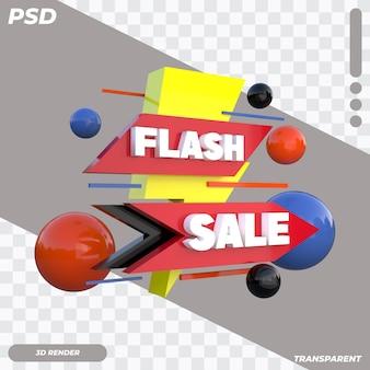 3d flash-verkoop