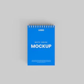 3d geringd notebookmodel
