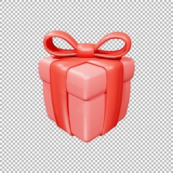 3d geschenkdoos illustratie