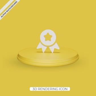 3d icono de procesamiento de cinta aislado