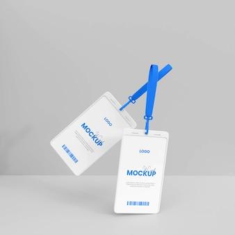 3d id-kaartmodel