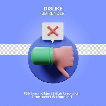 3d illustratie van het inhoudsbeheer geïsoleerd