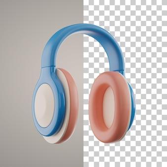 3d-koptelefoon uitknippad