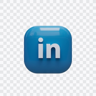 3d linkedin-pictogram