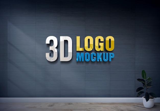 3d-logo mockup