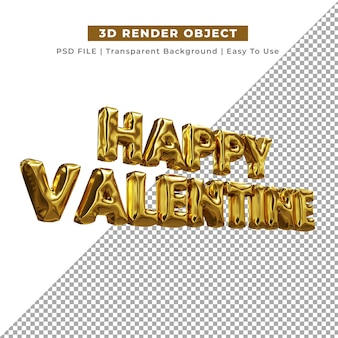 3d love for valentine-compostering