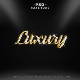 3d luxe teksteffect