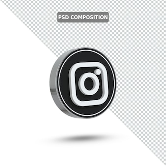 3d-pictogram instagram-logo