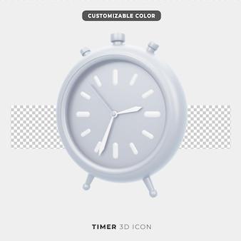 3d-pictogram van timer