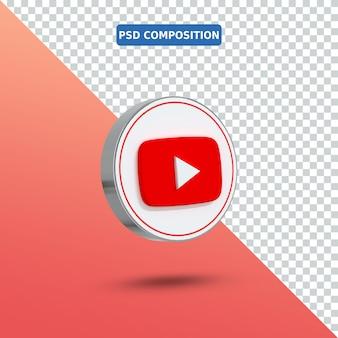 3d-pictogram youtube-logo
