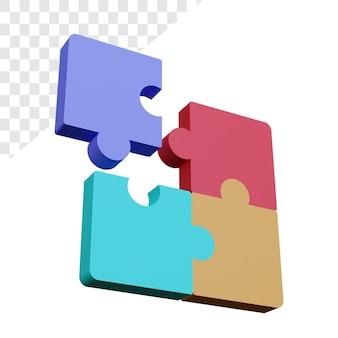 3d-puzzelstukjes