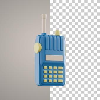 3d-radiocommunicatie