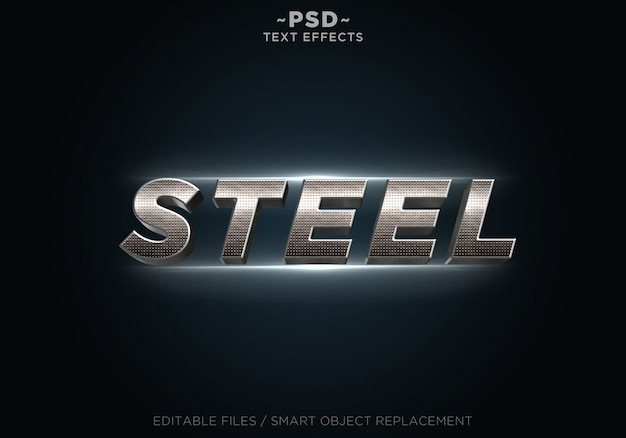 3d real steel effects-sjabloontekst
