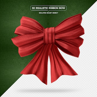 3d-realistische ribbon bow