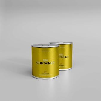 3d-realistische viscontainer-mockup