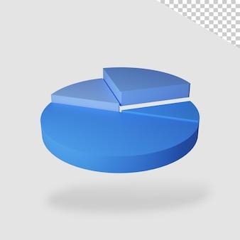 3d render cirkel infographic geïsoleerd