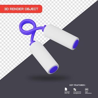 3d render hand grijper icoon