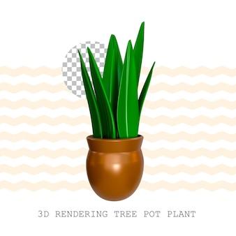 3d-rendering boompotplant