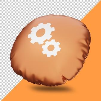 3d rendering instellingen icoon